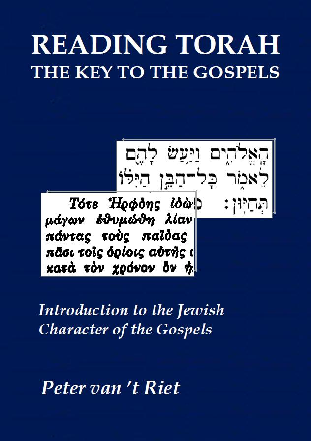 Cover Reading Torah, The Key to the Gospels